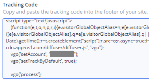 ActiveCampaign Tracking Code Example