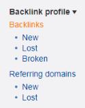 Ahrefs Backlinks