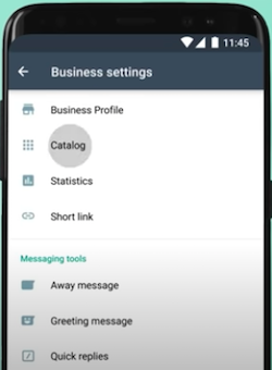 All Business Settings Options - Whatsapp Business App