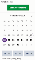 Auto-schedule (Hootsuite)