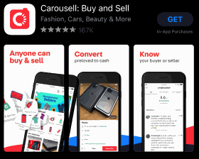 Carousell App - Apple Store Download