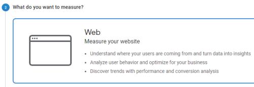 GA measures website