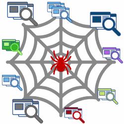 Googlebot spider crawls web pages