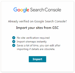 Import All Sites To Bing Webmaster Tools From Google Search Console