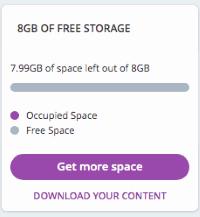 MeWe - Cloud Storage