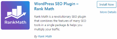 Rank Math SEO Plugin (search result)