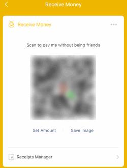 WeChatPay Receive Money QRcode (No Amount)