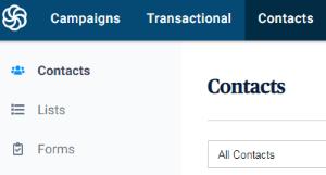 SendInBlue Contacts