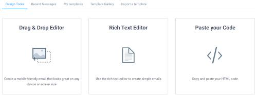 Design email (SendInBlue)
