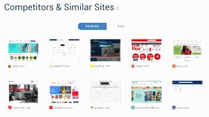 Similarweb Amazon Competitors Similar sites