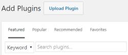 Wordpress Add Plugins