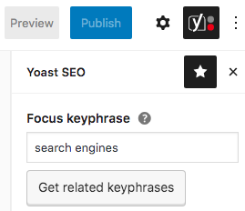 Focus Keyphrase (Yoast SEO)