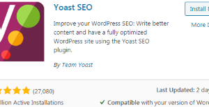 Yoast SEO Plugin (WordPress)